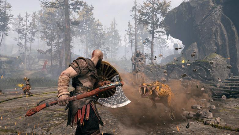 PS4 God of War CZ